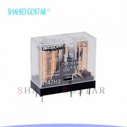 رله 16 آمپر شیشه ای OMRON (رله کتابی)